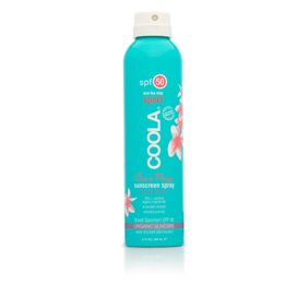 Coola Sport SPF 50 Suncreen Spray Guava Mango