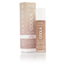 COOLA rosilliance LIGHT/MEDIUM Organic BB + skintint SPF 30+